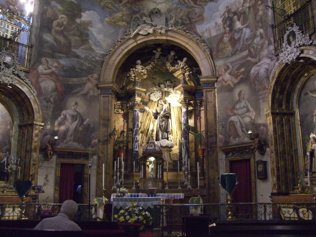 The Church Of San Antonio De Los Alemanes In Madrid Curiosities In